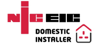 NICEIC Domestic Installer Approved | Wason & Webb